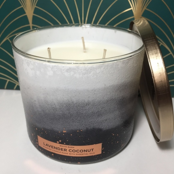LAVENDER COCONUT 3 Wick Candle